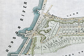 Portion of Philip G. Van Wyck Property map