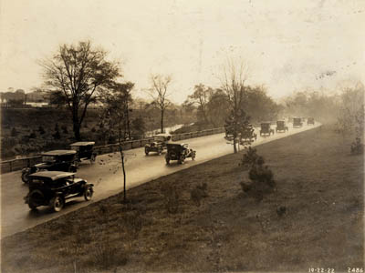 Cars on the Bronx River Parkway, n.d. (PBP-2486)