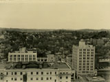 View looking NNW towards Buttermilk, Hawthorne & Chappaqua from roof of County Office Building, White Plains, NY, April 22, 1935 (PCS 016)