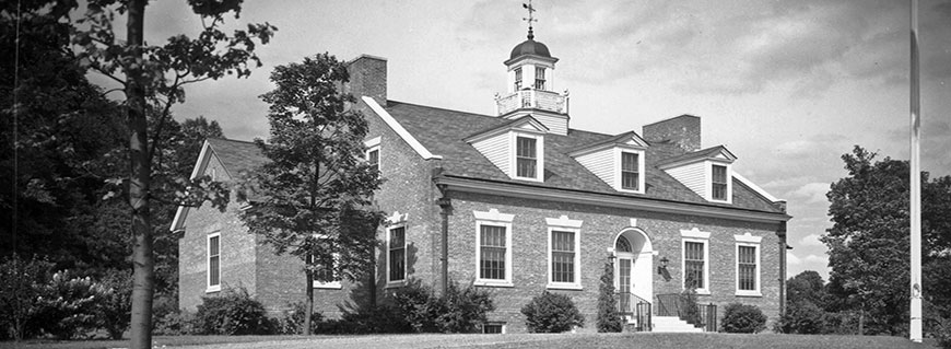 Bedford Town Hall, ca. 1950 (PJG225)